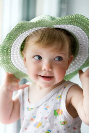 depositphotos 8665451 child with a hat