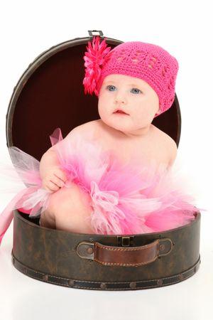 depositphotos 12821189 beautiful baby girl in travel case