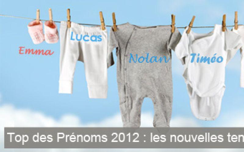 Top des Prénoms 2012 : les nouvelles tendances de l'année